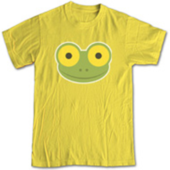 Mike the Frog Shirt, Yellow