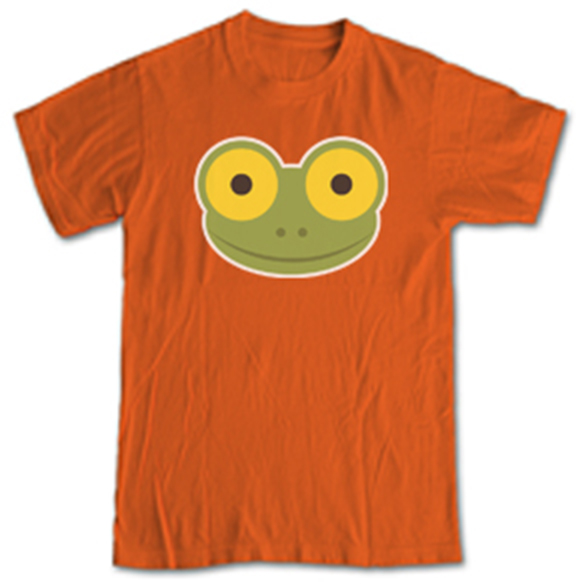 Mike the Frog Shirt, Orange